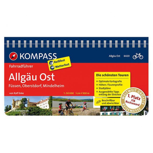 Kompass - Allgäu Ost - Guides cyclistes