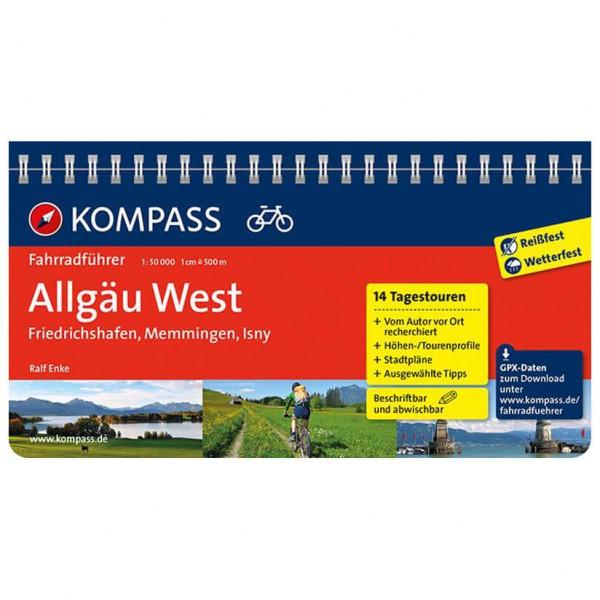 Kompass - Allgäu West, Friedrichshafen, Memmingen, Isny - Cykelguides