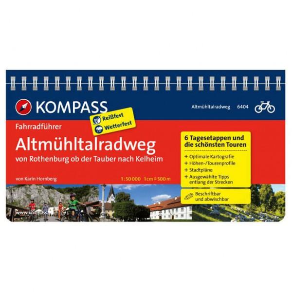 Kompass - Altmühltal-Radweg von Rothenburg nach Kelheim - Radführer