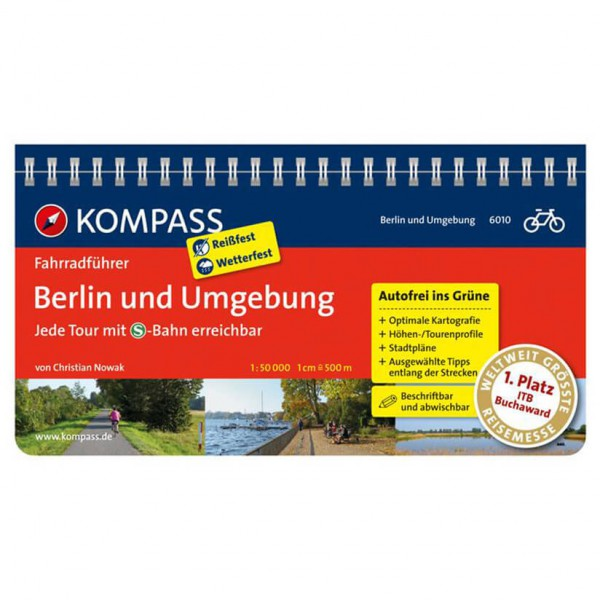 Kompass - Berlin und Umgebung - Guides cyclistes