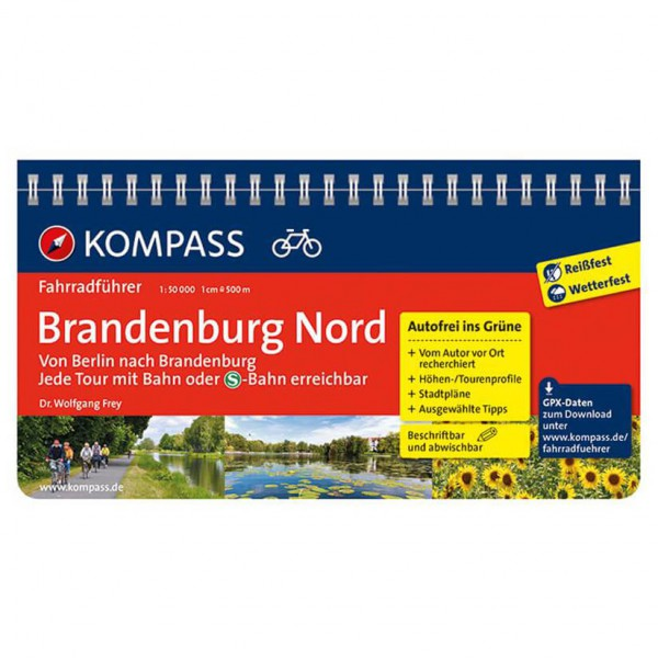 Kompass - Brandenburg Nord, von Berlin nach Brandenburg - Cycling guide