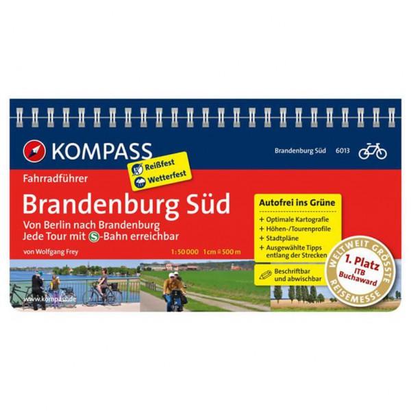 Kompass - Brandenburg Süd, Von Berlin nach Brandenburg - Cycling guide