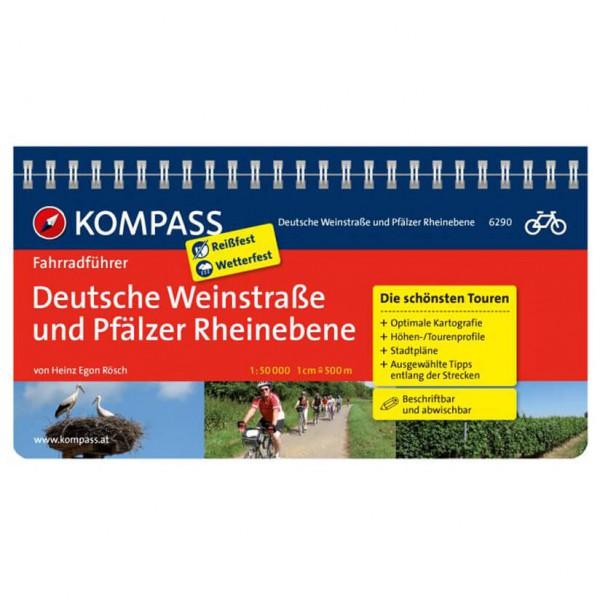Kompass - Deutsche Weinstraße und Pfälzer Rheinebene - Cykelguider