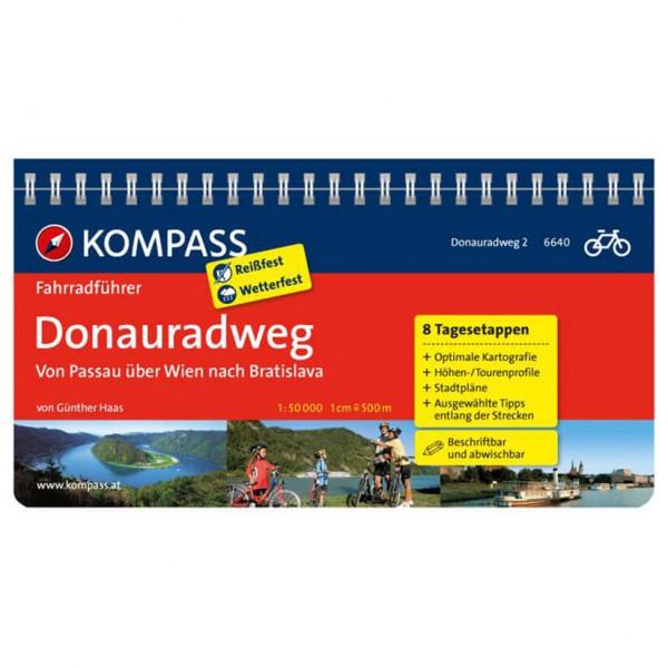 Kompass - Donauradweg Passau-Wien-Bratislava - Radführer