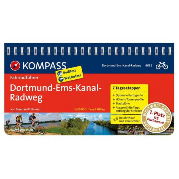 Kompass - Dortmund-Ems-Kanal-Radweg - Pyöräilyoppaat