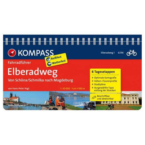 Kompass Elberadweg von Schöna/Schmilka nach Magdeburg - Cykelguides køb online | Cycle maps