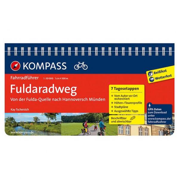 Kompass - Fuldaradweg, Fulda-Quelle nach Hannoversch Münden