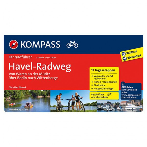 Kompass - Havel-Radweg - Fietsgidsen