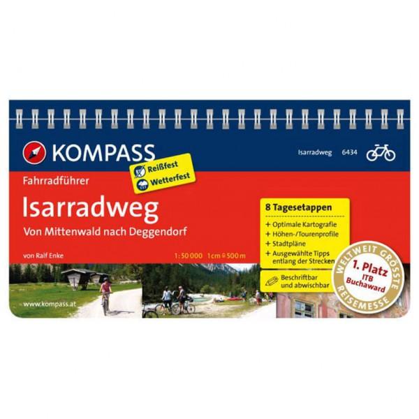 Kompass - Isarradweg von Mittenwald nach Deggendorf - Radführer