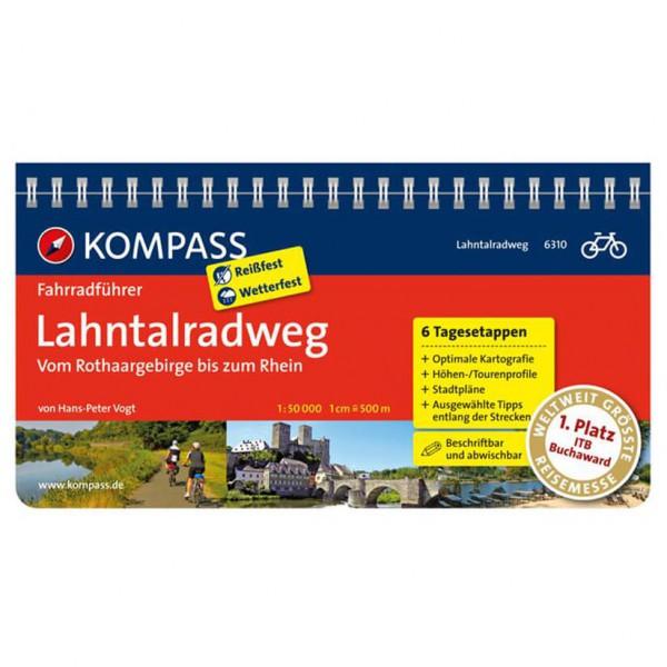 Kompass Lahntalradweg, Vom Rothaargebirge bis zum Rhein - Cykelguides køb online | Cycle maps