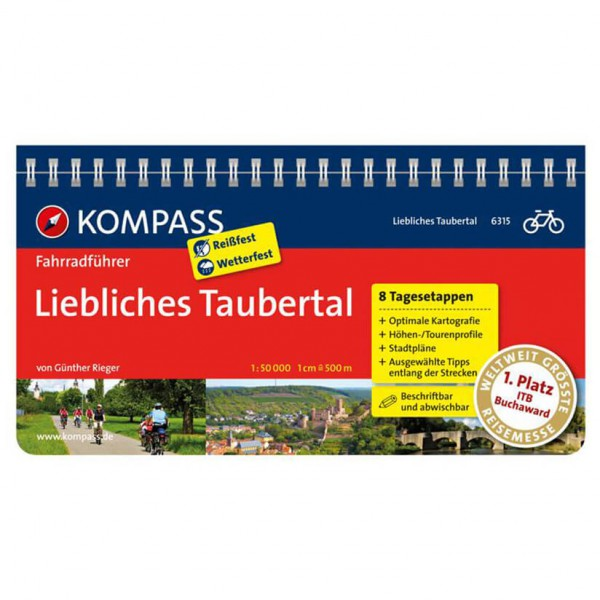 Kompass - Liebliches Taubertal - Guides cyclistes