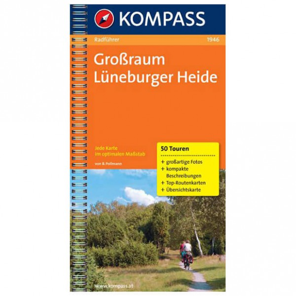 Kompass - Lüneburger Heide - Cycling Guides