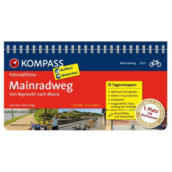 Kompass - Mainradweg von Bayreuth nach Mainz - Pyöräilyoppaat