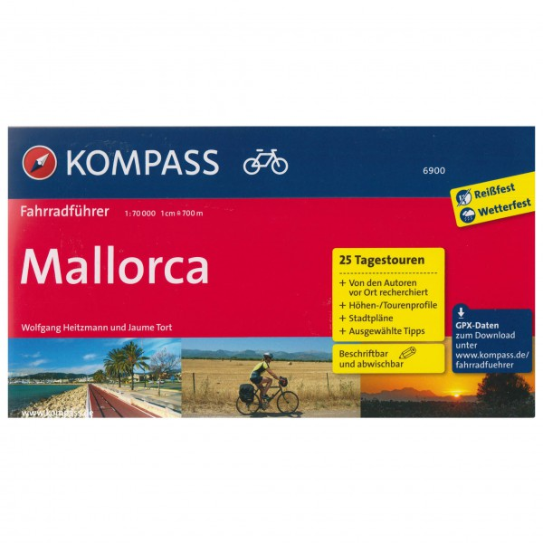 Kompass Mallorca - Cykelguides køb online | Cycle maps