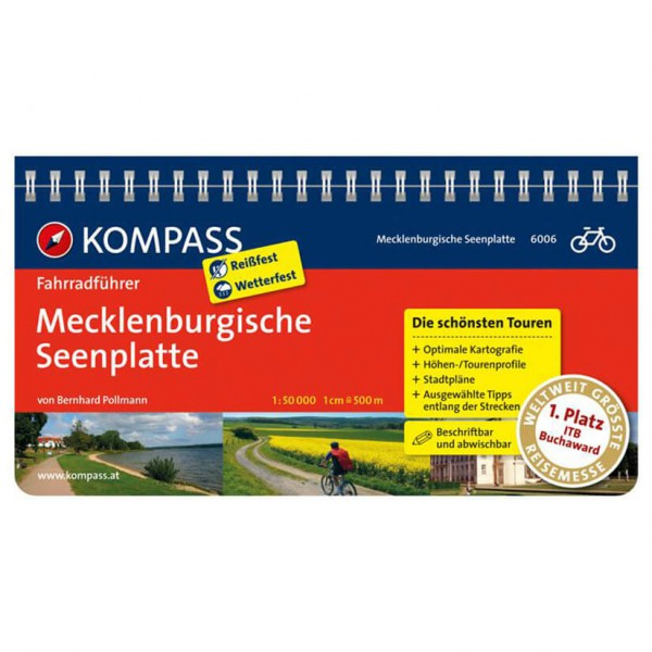 Kompass - Mecklenburgische Seenplatte - Cycling Guides
