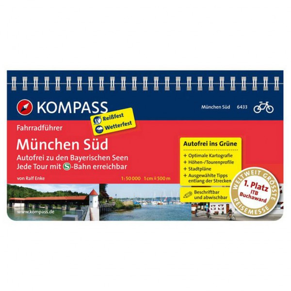 Kompass München Süd - Cykelguides køb online | Cycle maps