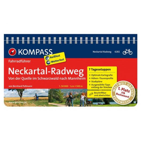 Kompass - Neckartal-Radweg, Schwarzwald bis Mannheim