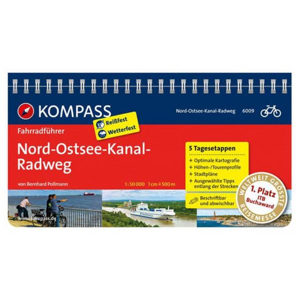 Kompass - Nord-Ostsee-Kanal-Radweg - Pyöräilyoppaat