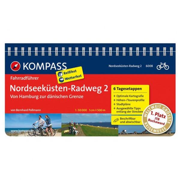 Kompass - Nordseeküsten-Radweg 2 - Pyöräilyoppaat