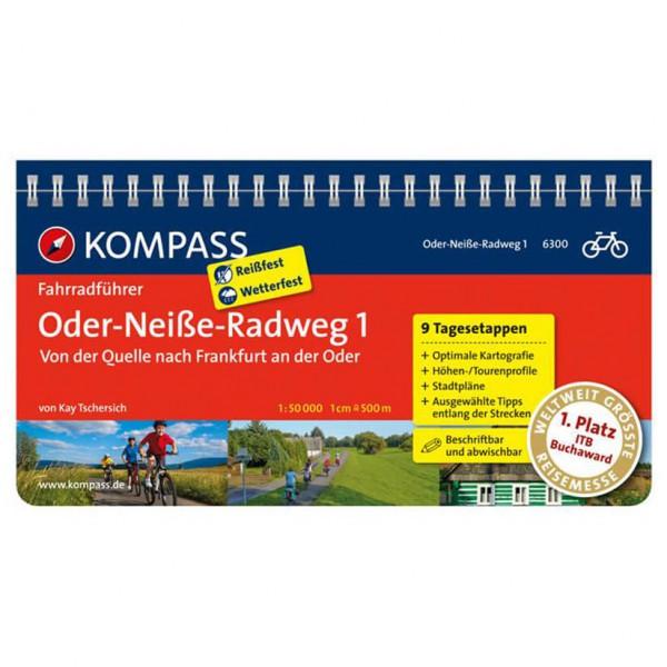 Kompass - Oder-Neiße-Radweg 1, Quelle bis Frankfurt/Oder