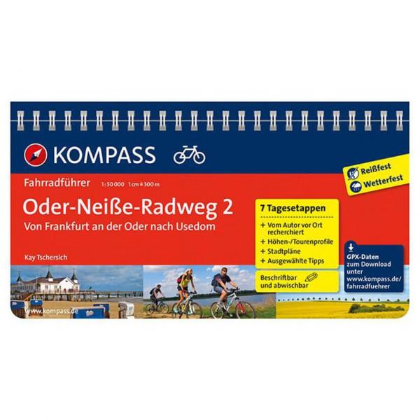 Kompass - Oder-Neiße-Radweg 2, Frankfurt/Oder bis Usedom - Radführer