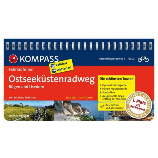 Kompass - Ostseeküstenradweg 1 Rügen und Usedom - Fietsgids