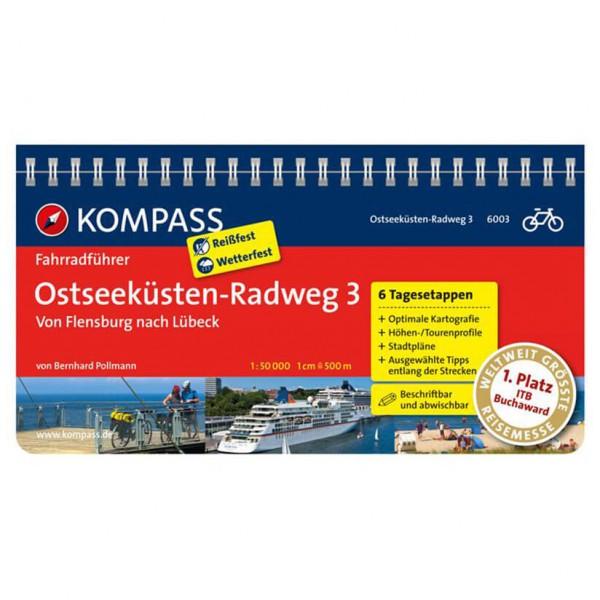 Kompass - Ostseeküsten-Radweg 3, Von Flensburg nach Lübeck - Radführer