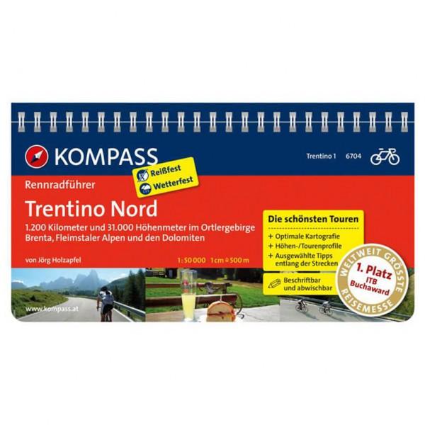 Kompass - Rennradführer Trentino Bd 1: Trentino Nord - Cykelguider