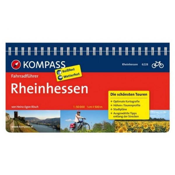 Kompass - Rheinhessen - Pyöräilyoppaat
