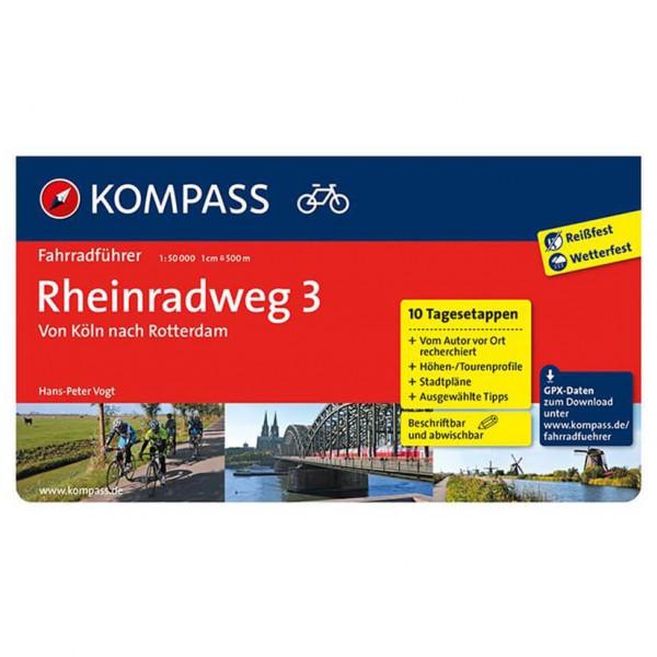 Kompass - Rheinradweg 3 - Radführer