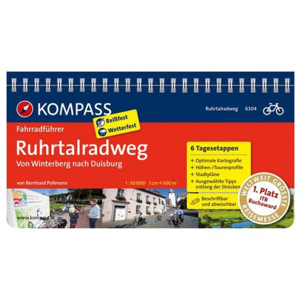Kompass - Ruhrtalradweg, von Winterberg nach Duisburg - Fietsgidsen