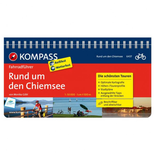 Kompass - Rund um den Chiemsee - Guides cyclistes