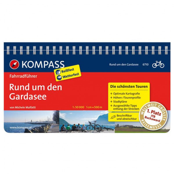 Kompass - Rund um den Gardasee - Radführer