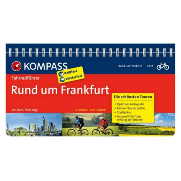 Kompass - Rund um Frankfurt - Cykelguides