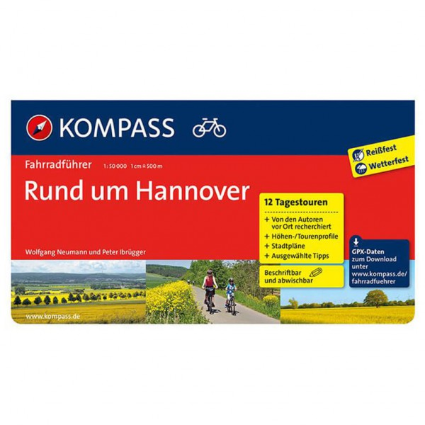 Kompass - Rund um Hannover - Cycling Guides