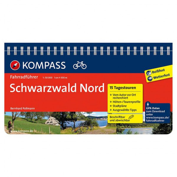 Kompass - Schwarzwald Nord - Cycling Guides