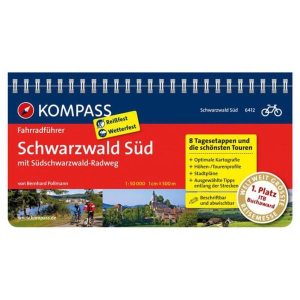 Kompass - Schwarzwald Süd mit Südschwarzwald Radweg - Cykelguider