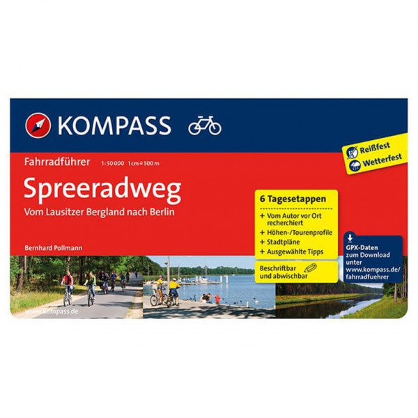 Kompass - Spreeradweg - Cycling Guides