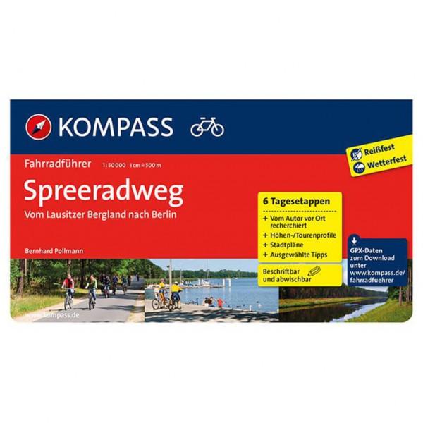Kompass - Spreeradweg - Fietsgidsen