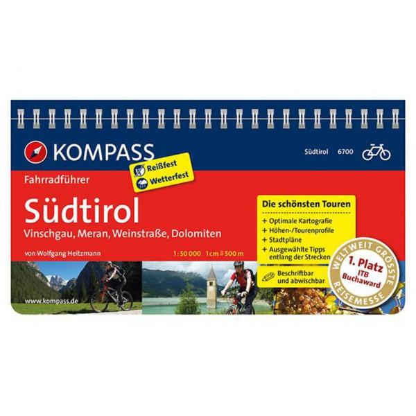 Kompass - Südtirol - Sykkelguide