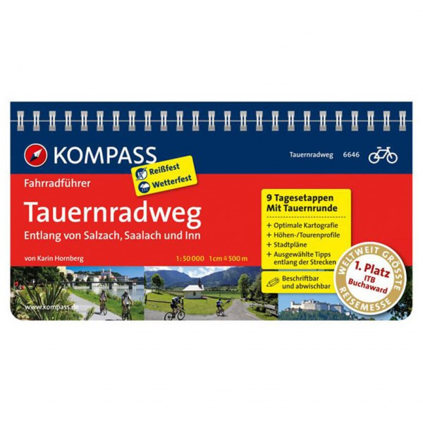 Kompass - Tauernradweg - Cykelguider