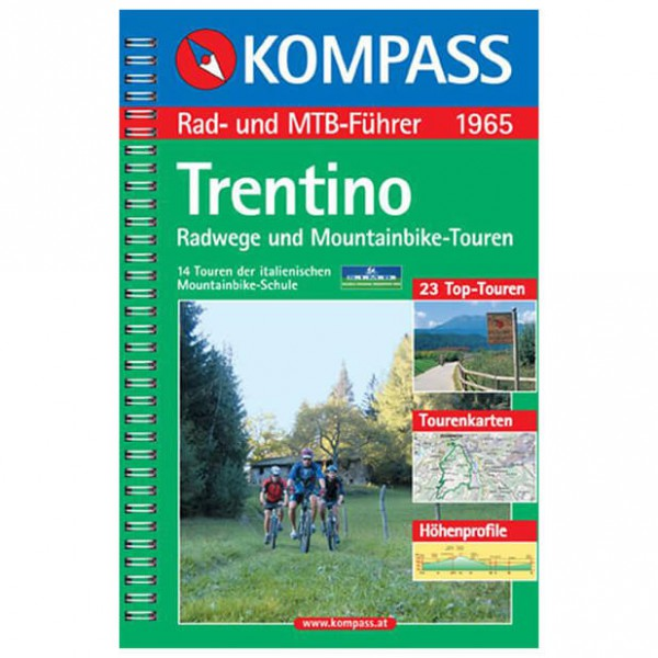 Kompass - Trentino - Cycling Guides