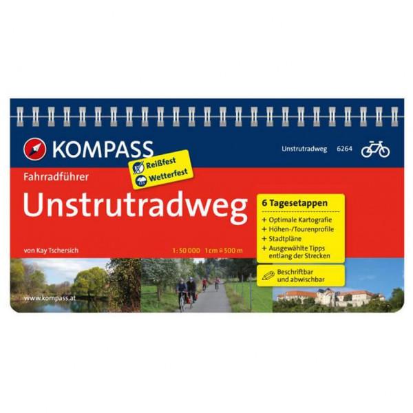Kompass - Unstrutradweg - Pyöräilyoppaat