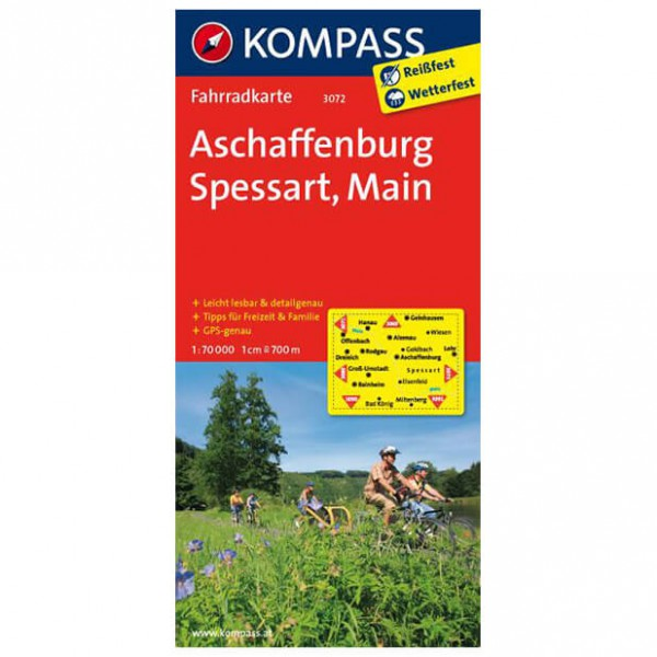 Kompass - Aschaffenburg - Cycling maps