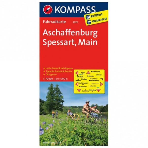 Kompass Aschaffenburg - Cykelkort køb online | Cycle maps