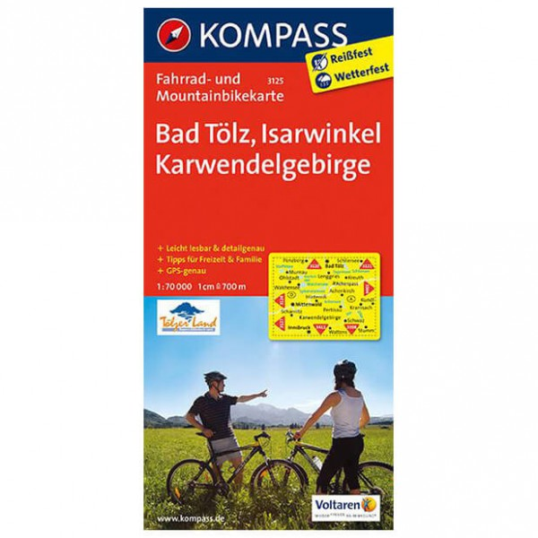 Kompass - Bad Tölz - Pyöräilykartat