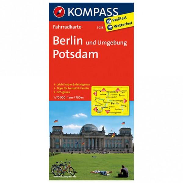 Kompass - Berlin und Umgebung - Radkarte