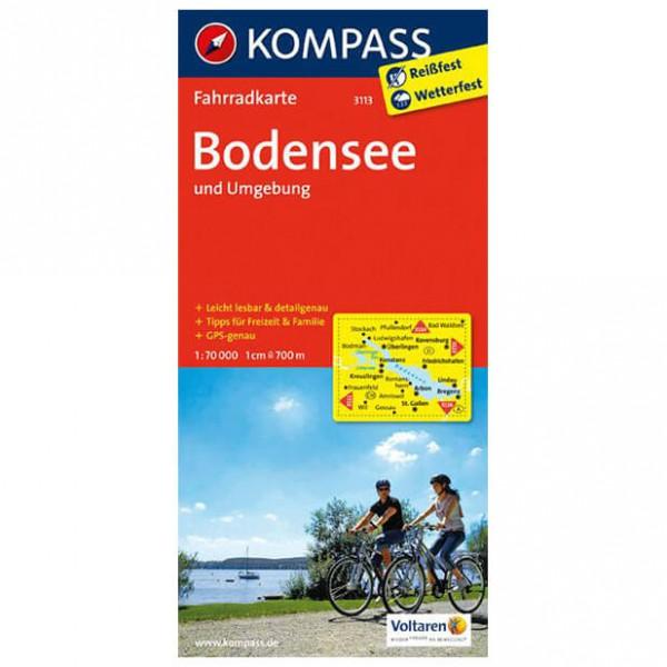 Kompass - Bodensee und Umgebung - Radkarte