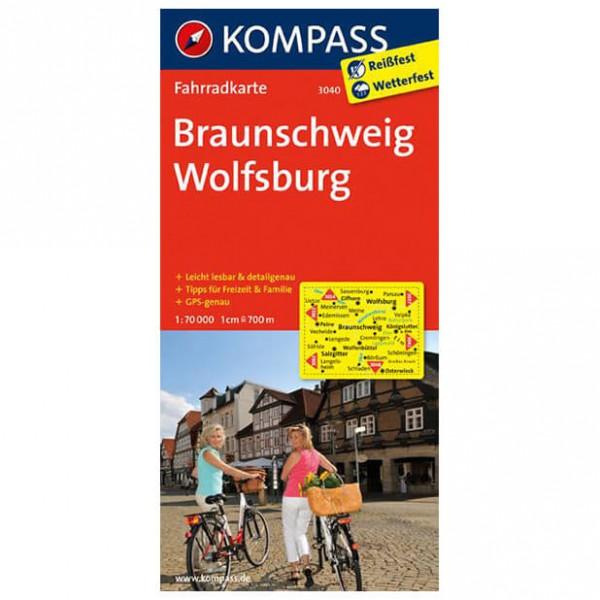 Braunschweig - Cycling map