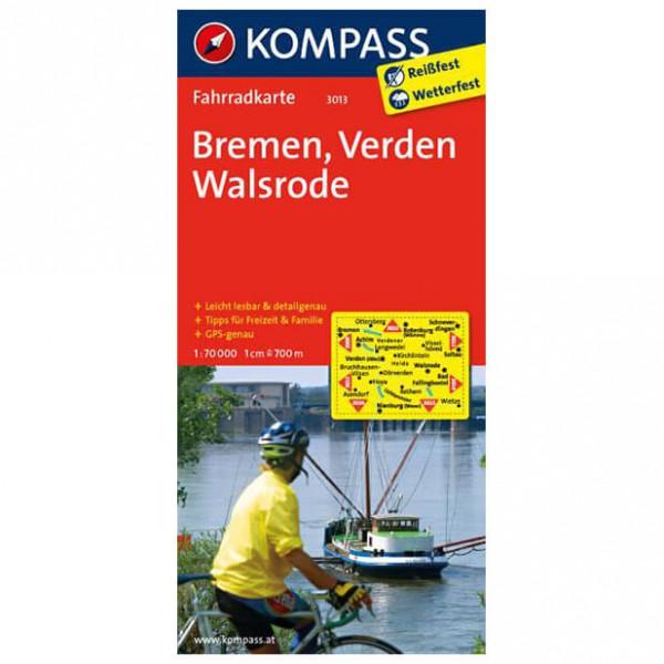 Kompass Bremen - Verden - Cykelkort køb online | Cycle maps